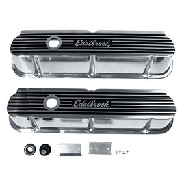 Cache-culbuteurs EDELBROCK ELITE II en Aluminium - EDELBROCK Valve Cover