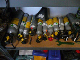 CO2 Flaschen mit Dauer TÜV