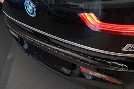 Schwarzer Edelstahl Ladekantenschutz für BMW i3  ab 11/2017
