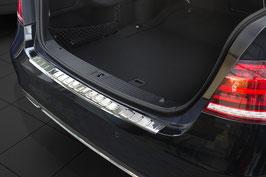 Edelstahl Ladekantenschutz Stoßstangenschutz für Mercedes E-Klasse W212 Limousine 2013-2016