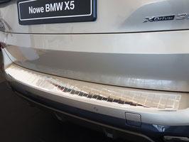 """EDELSTAHL Ladekantenschutz für BMW X5 Typ G05 nur für Fahrzeuge mit """"M"""" Stosstange ab Bj. 06/2018"""