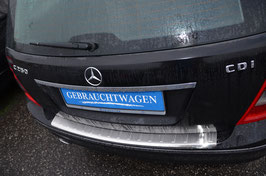 Edelstahl Ladekantenschutz für Mercedes C-Klasse W204 T-Modell 10/2007-02/2011 nicht AMG/Sport