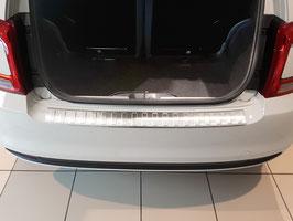 Edelstahl Ladekantenschutz für FIAT 500 ab 08/2015