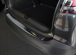 EDELSTAHL Ladekantenschutz graphit schwarz eloxiert für Mitsubishi ASX  Bauj. 11/2016-03/2019