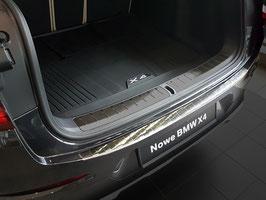 EDELSTAHL Ladekantenschutz für BMW X4 Typ G02 ab Bj. 04/2018