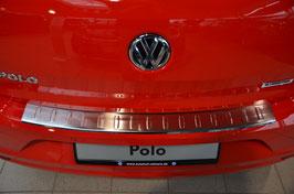Edelstahl Ladekantenschutz Stoßstangenschutz für Polo 6C ab 07/2014