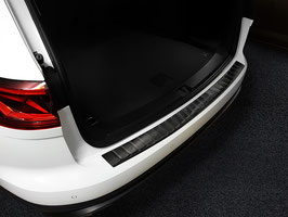 Edelstahl Ladekantenschutz graphit schwarz eloxiert für VW TOUAREG III Typ  CR ab Bj. 03/2018