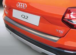 Ladekantenschutz Stoßstangenschutz für Audi Q2 ab 07/2016