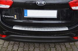 Edelstahl Ladekantenschutz Stoßstangenschutz KIA Carens ab Bauj. 06/2013-09/2016