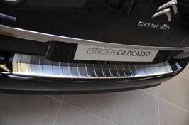 EDELSTAHL Ladekantenschutz für Citroen C4 Grand Picasso II  7 Sitzerab 06/2013
