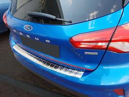 EDELSTAHL Ladekantenschutz für FORD FOCUS 5 türer Hatchback ab Bj.04/2018