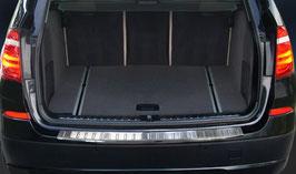 EDELSTAHL Ladekantenschutz für BMW X3 Typ F25 ab Bj. 2014 - 10/2017