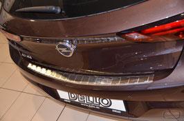 Edelstahl Ladekantenschutz für Opel Astra K LIMOUSINE/Schrägheck