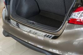 Edelstahl Ladekantenschutz für  Nissan Pulsar ab Bj. 10.2014