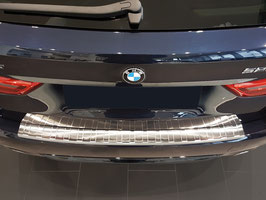 Edelstahl Ladekantenschutz BMW 5er G31 Touring ab Bj. 03/2017