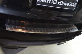 EDELSTAHL Ladekantenschutz für BMW X3 F25 Bauj. 09/2010 - 2013