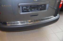 Edelstahl Stoßstangenschutz Ladekantenschutz für VW  Caddy / Maxi ab 05/2004-06/2015