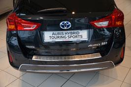Edelstahl Ladekantenschutz für Toyota Auris Touring Sport 2013-04/2015
