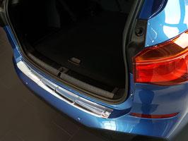 """EDELSTAHL Ladekantenschutz BMW X1 Typ F48 nur für Fahrzeuge mit """"M"""" Stosstange ab Bj. 11/2014"""