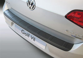 Ladekantenschutz für VW Golf 7 3 & 5-türer gerippte Ausführungab 11/2012