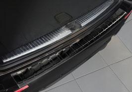 Edelstahl Ladekantenschutz graphit schwarz für Mercedes E-Klasse T-Modell Kombi ab 09/2016