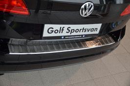 Edelstahl Ladekantenschutz für VW Golf 7 Sportsvan ab 05/2014