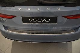 Edelstahl StoßstangenschutzLadekantenschutz für Volvo V90 ab 09/2016