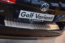 Edelstahl Ladekantenschutz für Golf 7 Variant  ab 11/2012-2017 (nicht Facelift)