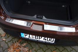 Edelstahl Ladekantenschutz für RENAULT CLIO 4 ab 11/2012 5-türig