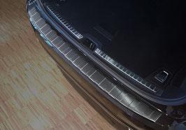 Edelstahl Ladekantenschutz graphit schwarz eloxiert für VOLVO V90 & Cross Country  ab 03/2016