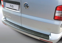 Ladekantenschutz gerippt für VW T6 mit Heck-Flügeltüren ab Baujahr 09/2015 Caravelle / Multivan / Transporter