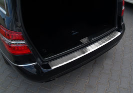 Edelstahl Ladekantenschutz für Mercedes E-Klasse W212 T-Modell 2009-03/2013