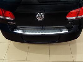 Edelstahl Ladekantenschutz für VW Golf 6 2008-2012