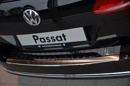 Edelstahl Ladekantenschutz Stoßstangenschutz für Passat Variant 2011-2014