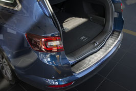 Edelstahl Ladekantenschutz für Renault Talisman Kombi ab 2015