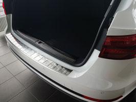 Edelstahl Ladekantenschutz für Audi A4 B9 Avant/Kombi ab Baujahr 2015