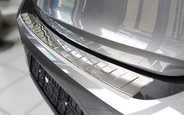 Edelstahl Ladekantenschutz für  Opel Corsa F  5-türig ab Bj. 06/2019 nur passend für Edition u. Elegance Austattung