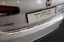 Edelstahl Ladekantenschutz für FIAT TIPO CROSS ab Bj. 10/2020