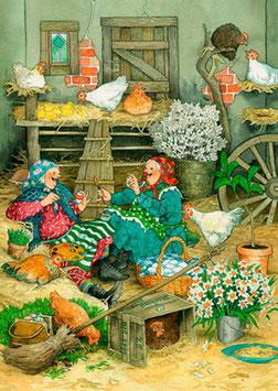 IN HET KIPPENHOK (041) - INGE LOOK: AUNTIES