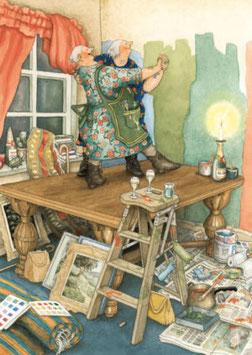 MUREN SCHILDEREN (064) - INGE LOOK: AUNTIES