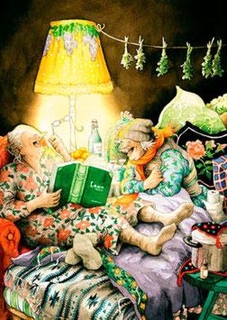 SAMEN BOEK LEZEN OP BED (021) - INGE LOOK: AUNTIES