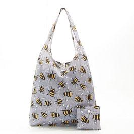 SHOPPER BEES GREY - ECO CHIC