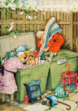 ROMMELEN IN CONTAINER (012) - INGE LOOK: AUNTIES