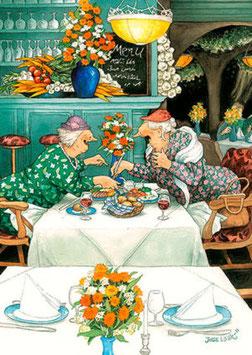 UIT ETEN (032) - INGE LOOK: AUNTIES