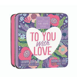 TO YOU WITH LOVE - SCOTTISH FINE SOAPS