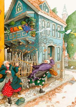 ONTSNAPPEN MET TOUWLADDER (035) - INGE LOOK: AUNTIES