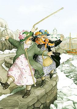 CITY TRIP OVER HET RANDJE LOPEN (022) - INGE LOOK: AUNTIES