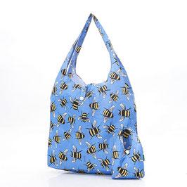 SHOPPER BEES BLUE - ECO CHIC
