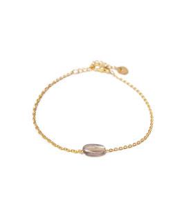 Quartz bracelet gold