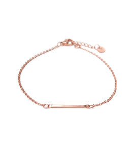 Bar bracelet rosegold
